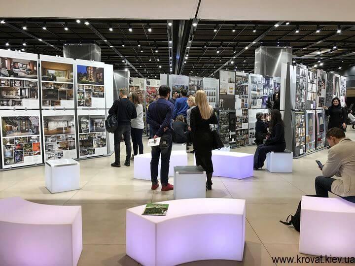 выставка работ участников конкурса интерьер года