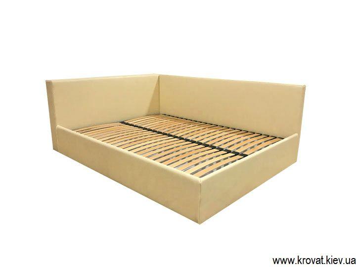 ліжко з італійської екошкіри на замовлення