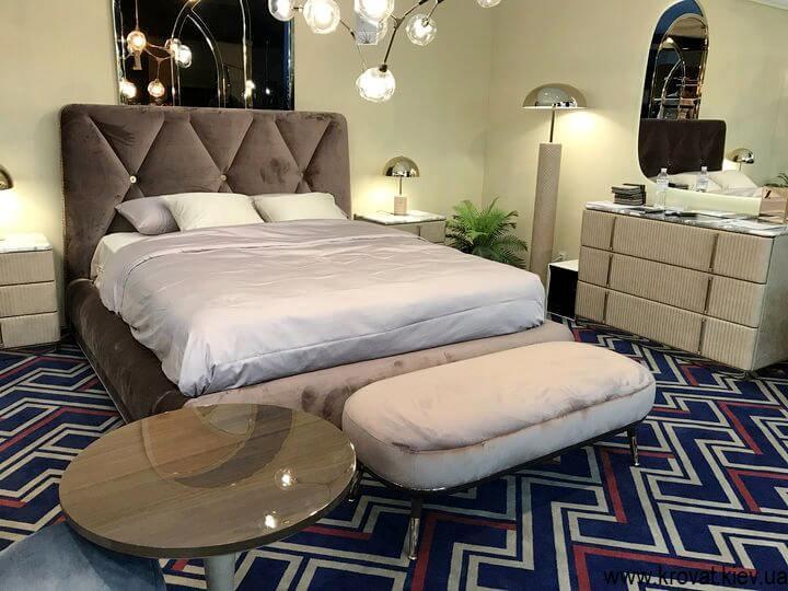 дизайн спальни с кроватью