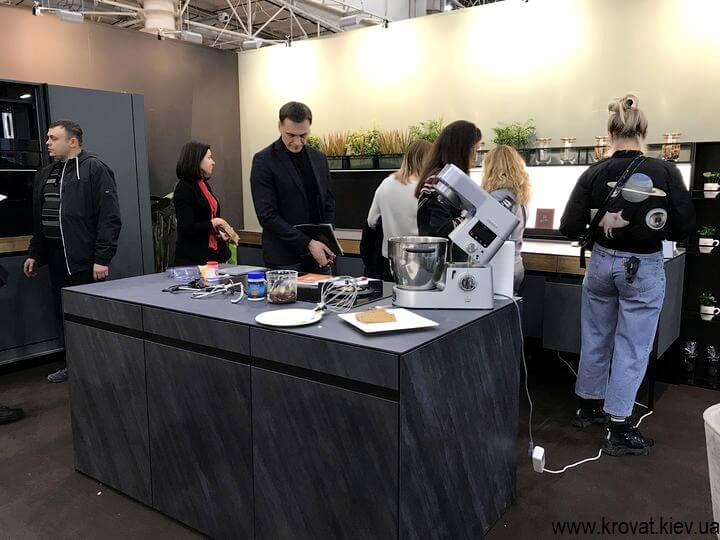 кухні на меблевій виставці в києві