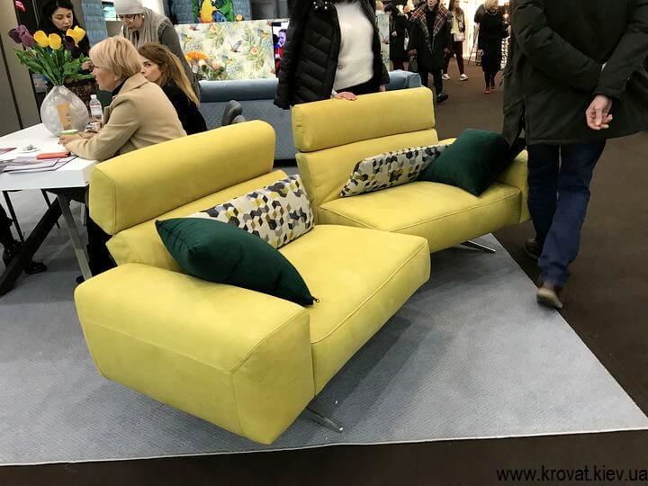 модульный диван с раздвижным механизмом