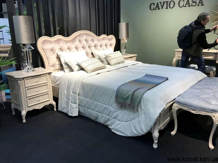 італійське ліжко benedetta cavio casa