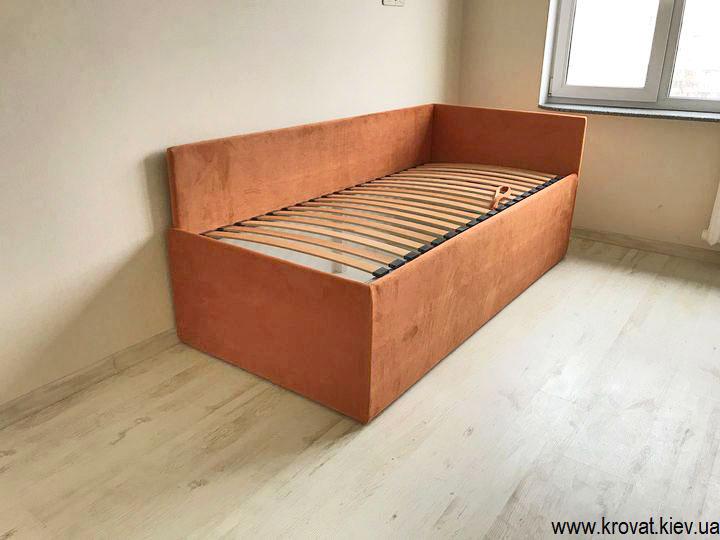 одноместная кровать с высоким спальным местом на заказ