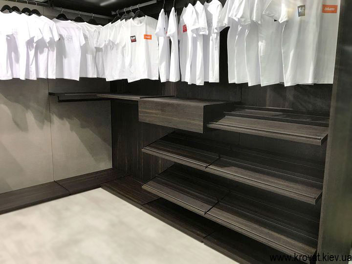 гардеробные системы для частного дома