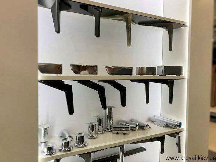 ніжки з металу для меблів