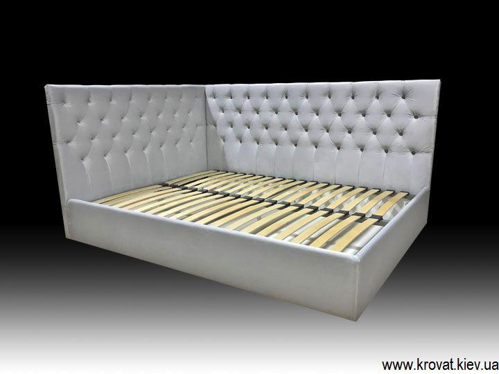 ліжко з каретною стяжкою для дівчинки на замовлення