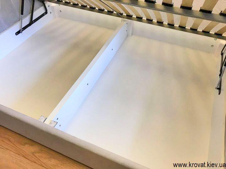 ліжко 140х190 з ящиком для білизни
