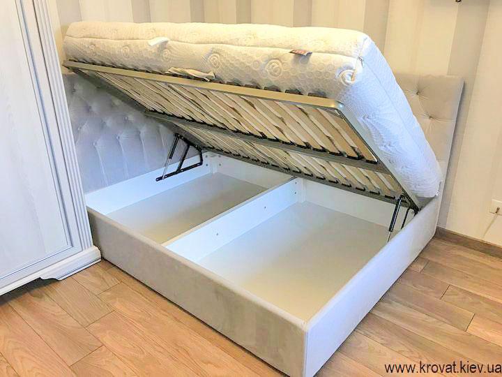 ліжко 140х190 з боковим підйомним механізмом