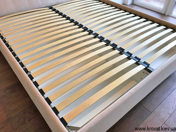 кровать высокая от пола на заказ