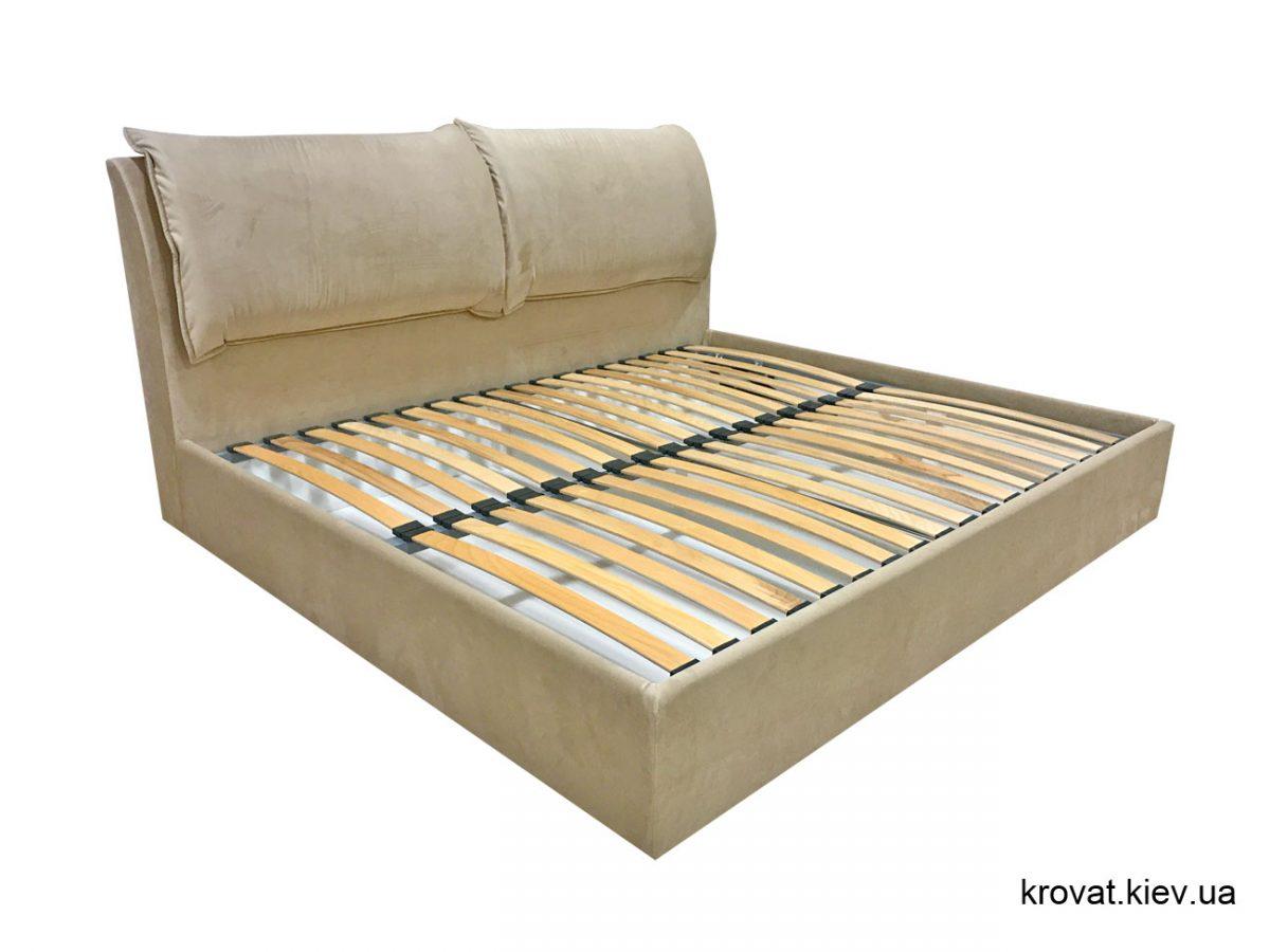 кровать с изголовьем сбоку на заказ