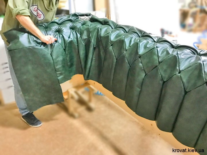 изготовление дивана честер на заказ