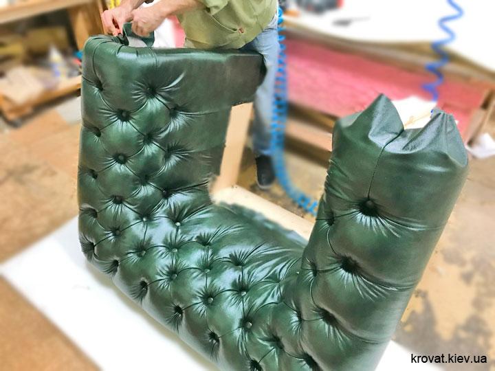 изготовление кресла честер на заказ