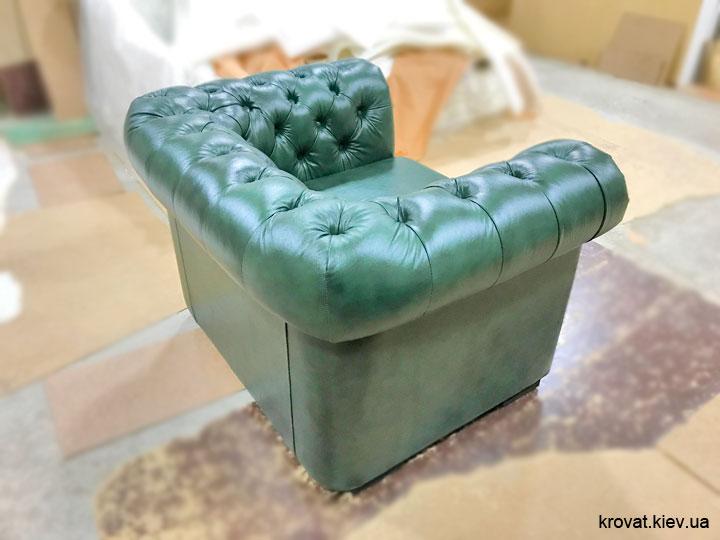 классическое кресло честер на заказ