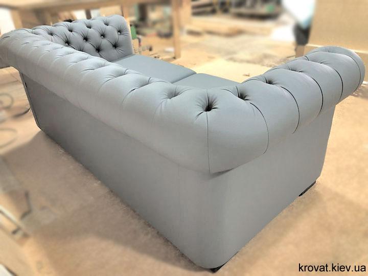 серый диван честер на заказ