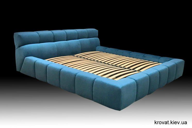 мягкая двуспальная кровать на заказ