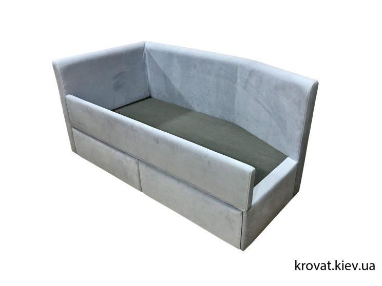 дитяче ліжко з висувними ящиками