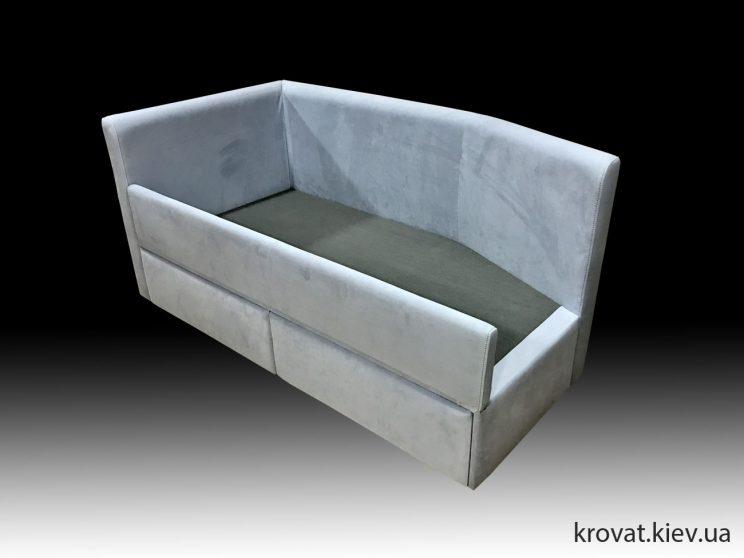 односпальне ліжко з бортиком на замовлення