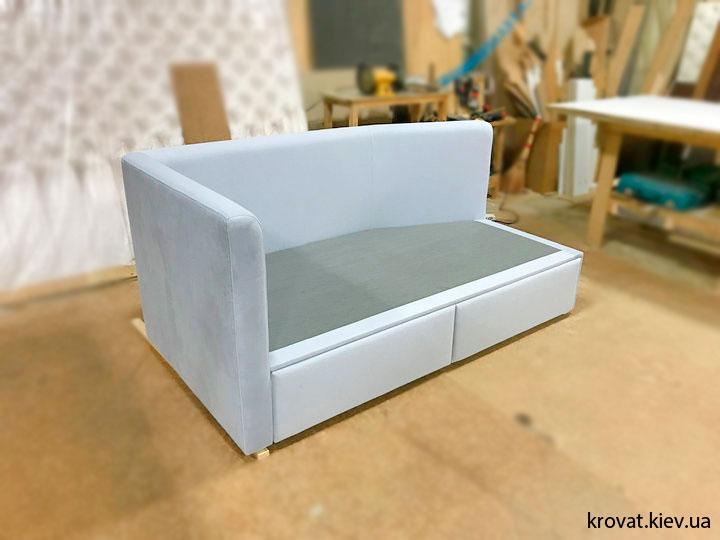 подростковая кровать с выдвижными ящиками на заказ