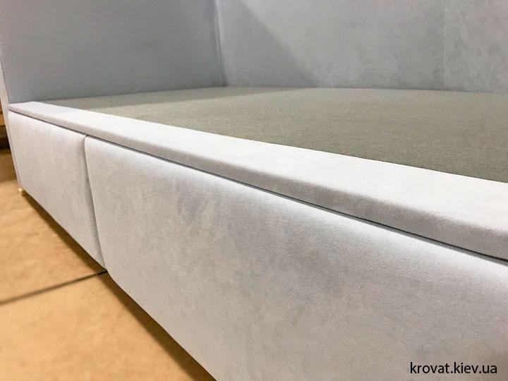 детский диван кровать с ящиками на заказ