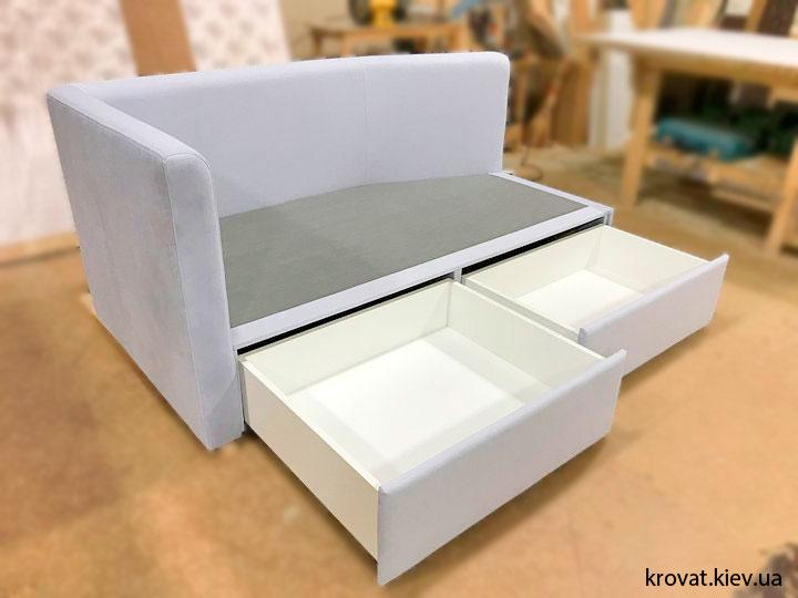 подростковая кровать с ящиками на заказ