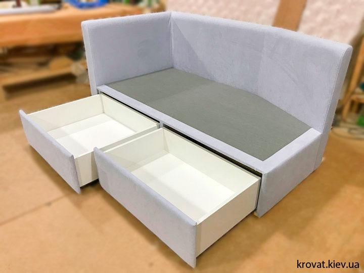 детские кровати с выдвижными ящиками на заказ