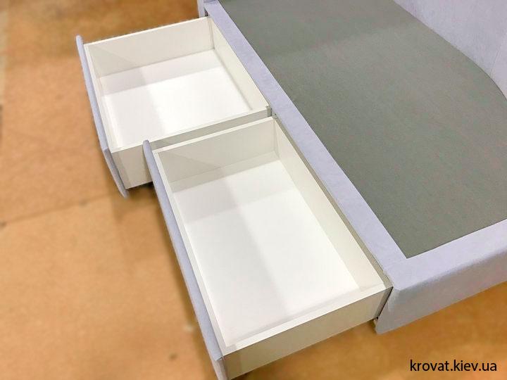кровати с выдвижными ящиками на заказ