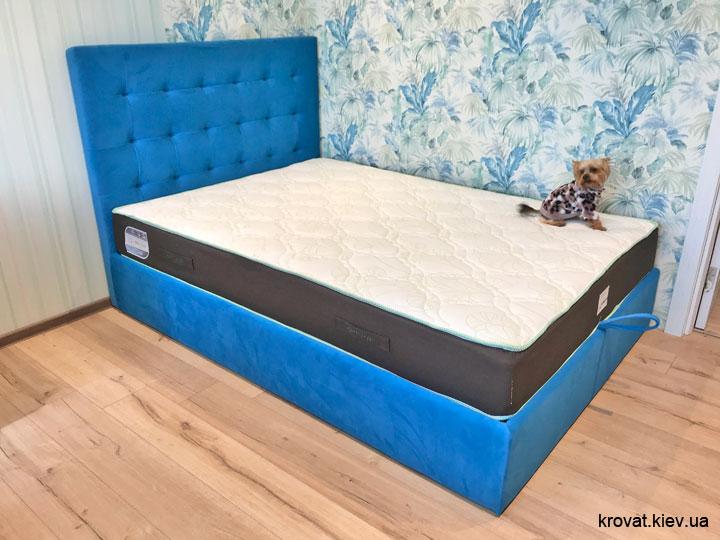 кровать в комнату подростка мальчика на заказ