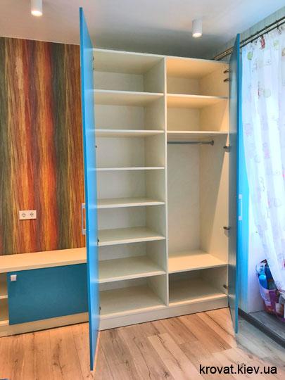 как сделать шкаф в детскую из дсп на вияр