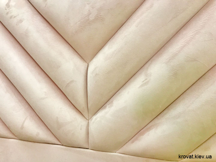 узголів'я ліжка у вигляді стінової панелі на замовлення