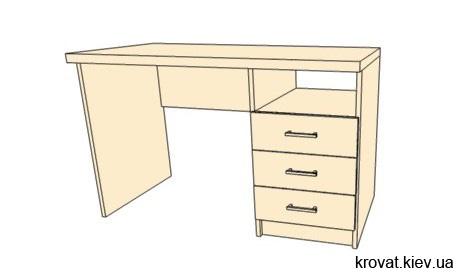 проект стола для подростка