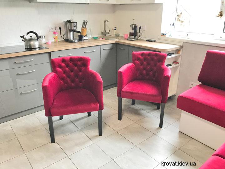 крісла на кухню до столу
