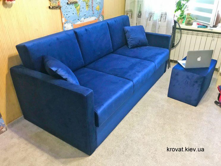 диван с приставной банкеткой на заказ