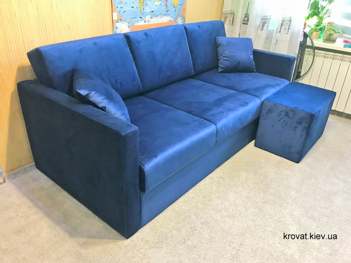 диван с пуфом на заказ