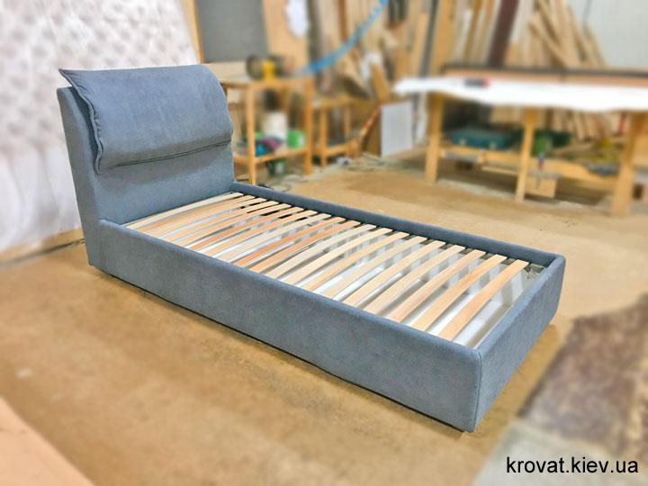 односпальная кровать для подростка мальчика на заказ