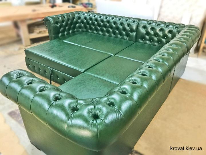 диван честер с раскладным механизмом на заказ