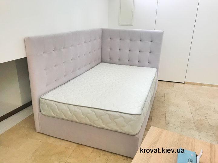 подростковая кровать с боковой спинкой на заказ