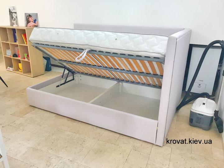 кровать для подростка с боковым подъемным механизмом на заказ