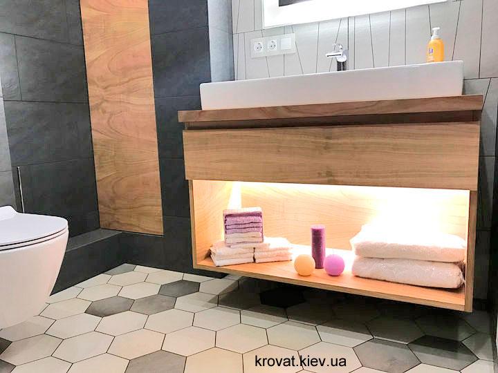 тумбочка під раковину у ванну на замовлення