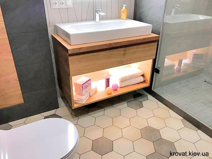 тумбочка під умивальник у ванну на замовлення