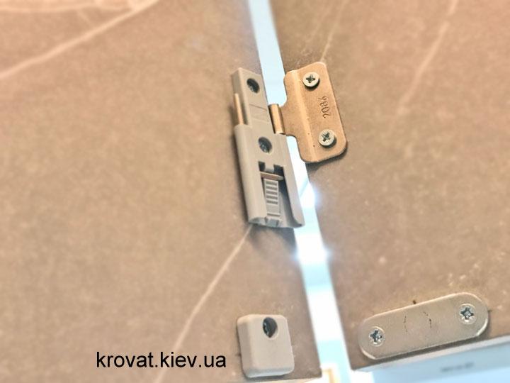 кухонные двери гармошка wing line