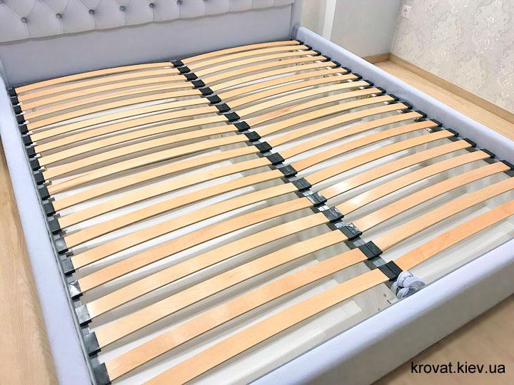кровать с окантовкой спинки на заказ