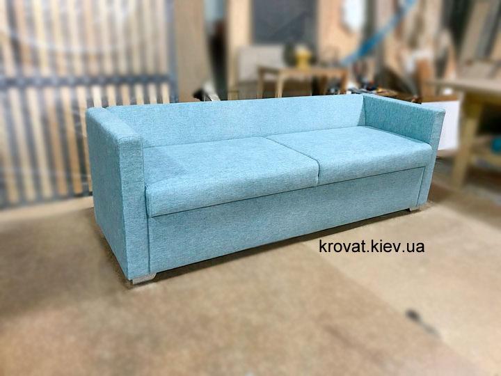узкий неглубокий диван в кухню на заказ