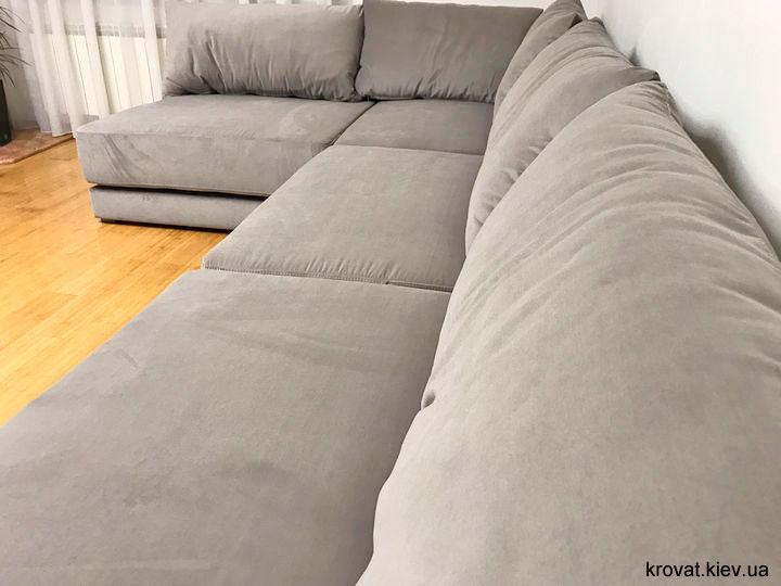 кутові дивани в зал на замовлення