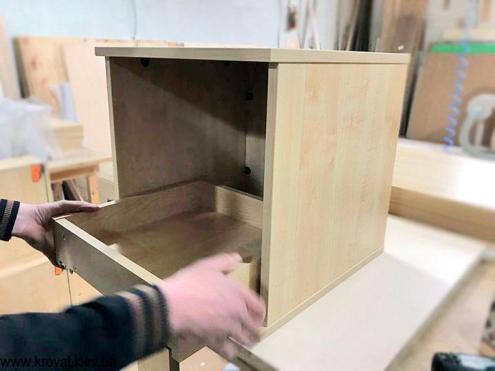 як зробити приліжкову тумбочку своїми руками на віяр