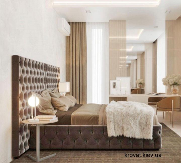 дизайн проект ліжка в спальню