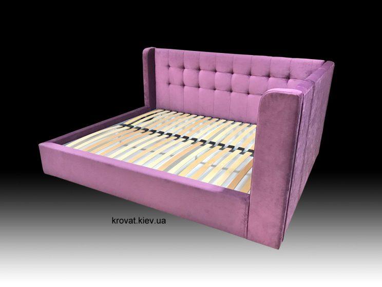 угловая кровать с бортиком на заказ