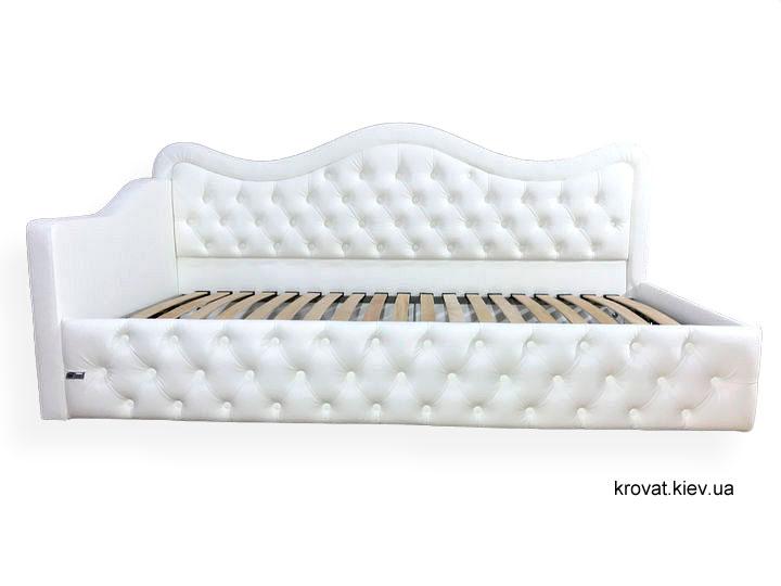 кутове ліжко для підлітка дівчинки на замовлення