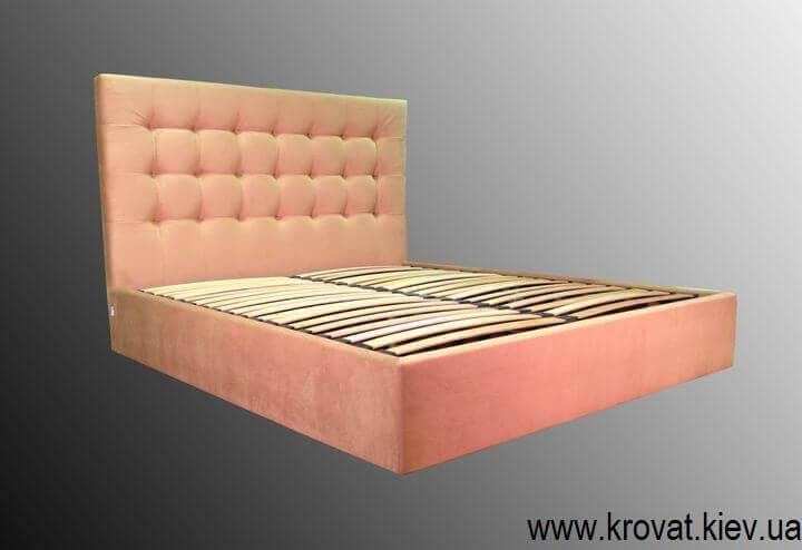 двоспальне ліжко з підйомним механізмом