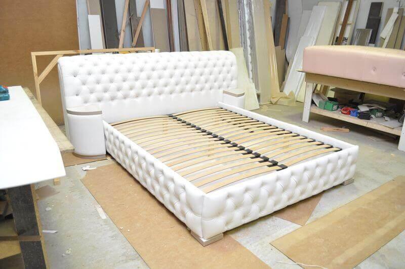 дорогие кровати с капитоне