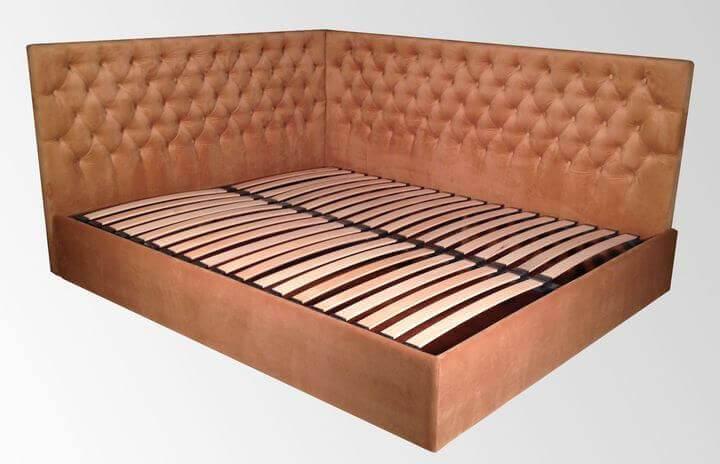 цены на кровать углом
